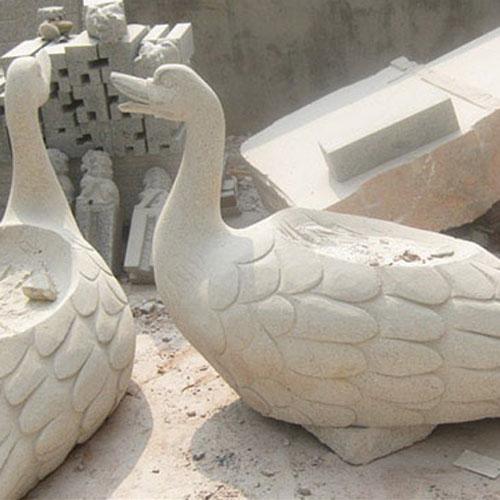 五莲花动物雕刻